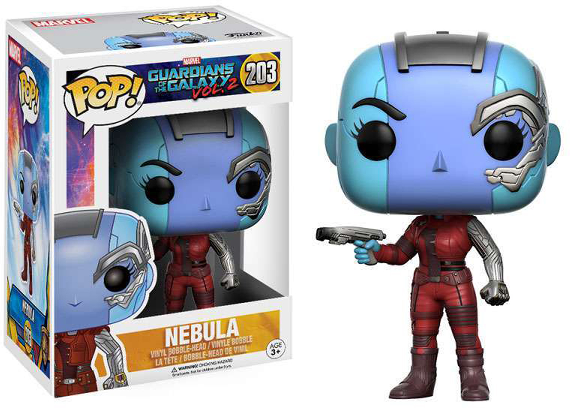 Funko POP! Bobble Фигурка Marvel Guardians O/T Galaxy 2 Nebula 13155 фигурка funko pop bobble marvel black panther warrior falls