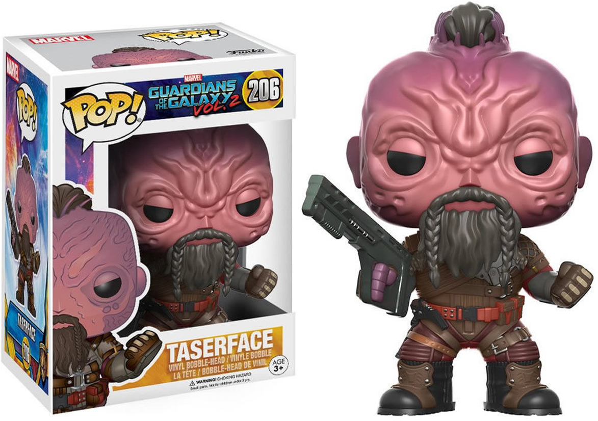 Funko POP! Bobble Фигурка Marvel Guardians O/T Galaxy 2 Taserface 12780 фигурка funko pop bobble marvel black panther