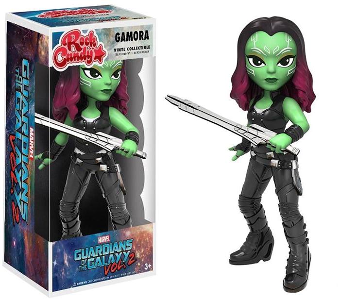 Funko Rock Candy Фигурка Marvel Guardians O/T Galaxy 2 Gamora 13006 цена и фото