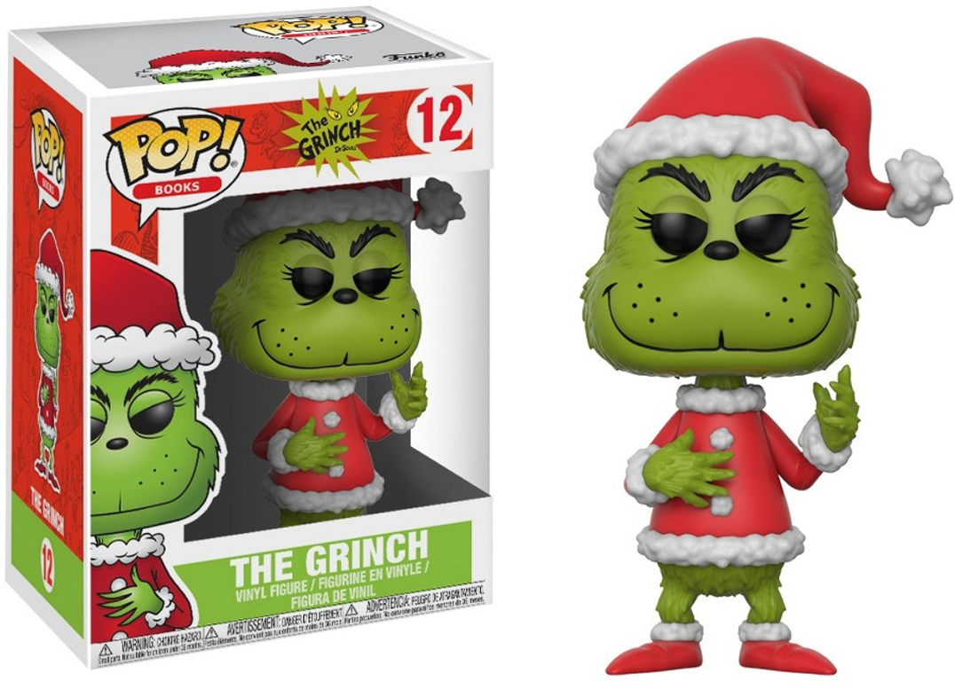 Funko POP! Vinyl Фигурка The Grinch Grinch in Santa Outfit 21745 250mm 10 heavy duty alloy curved jaw locking plier mole vise grip wrench clamp en1708
