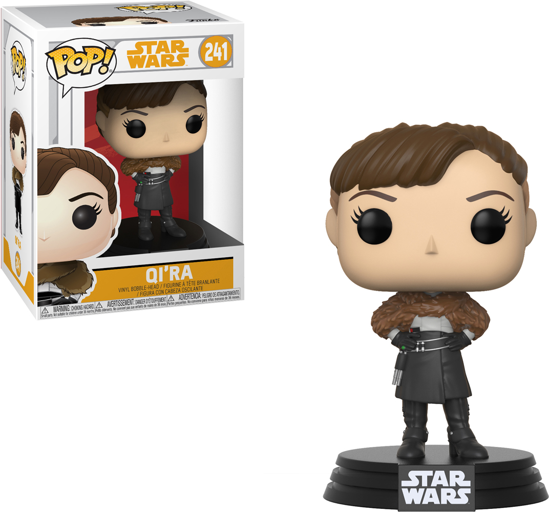 Funko POP! Bobble Фигурка Star Wars Solo Qi'Ra POP 6 26977 [quanpapa] new genuine funko pop adventure time cake 55 model action figurine doll car decoration kids toys