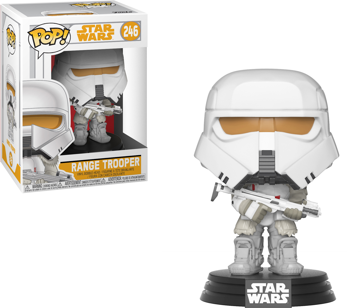 Funko POP! Bobble Фигурка Star Wars Solo Range Trooper POP 19 27008 стоимость