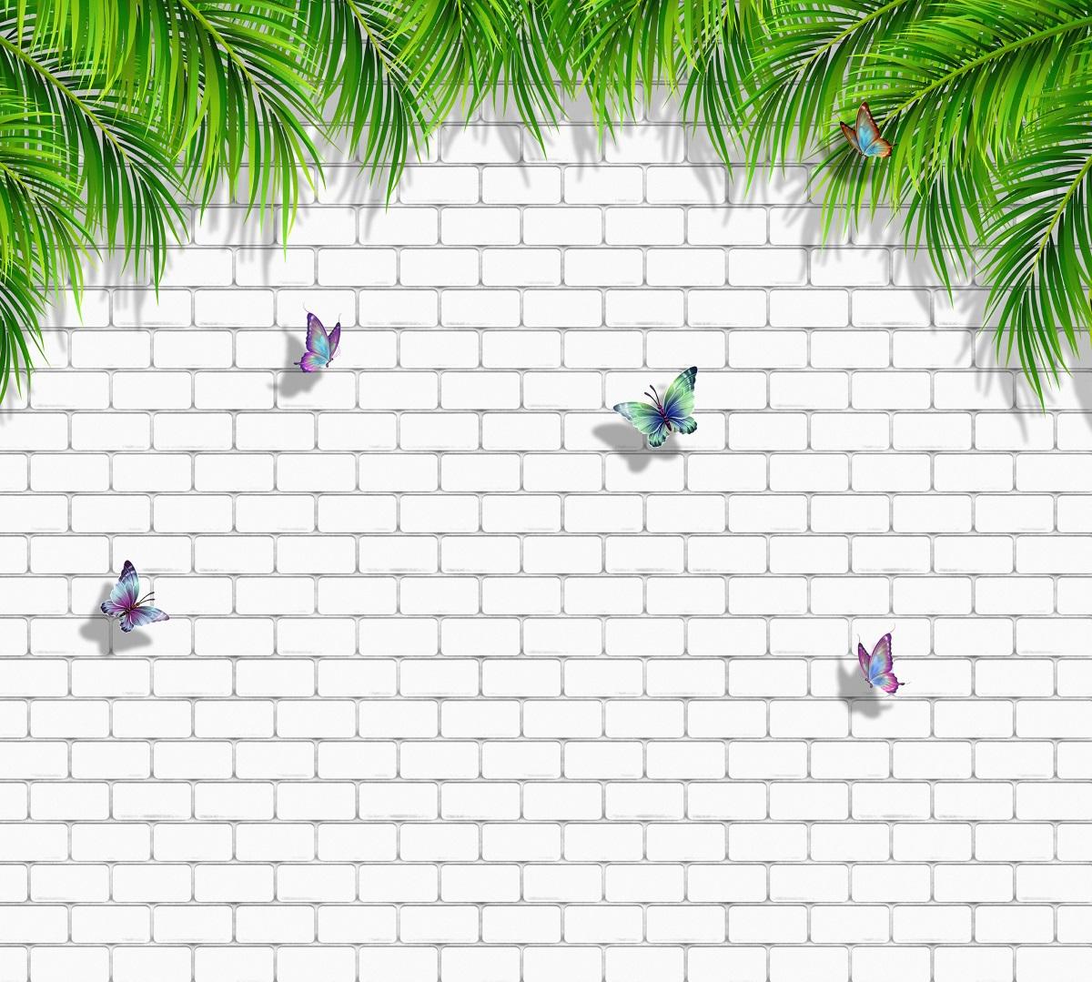 """Фотообои """"Бабочки на стене"""" позволят создать неповторимый облик помещения, в котором они размещены. Фотообои печатаются на чистом флизелине. Преимущества:- качественный, экологически чистый материал;- простота наклеивания;- длительный срок службы."""