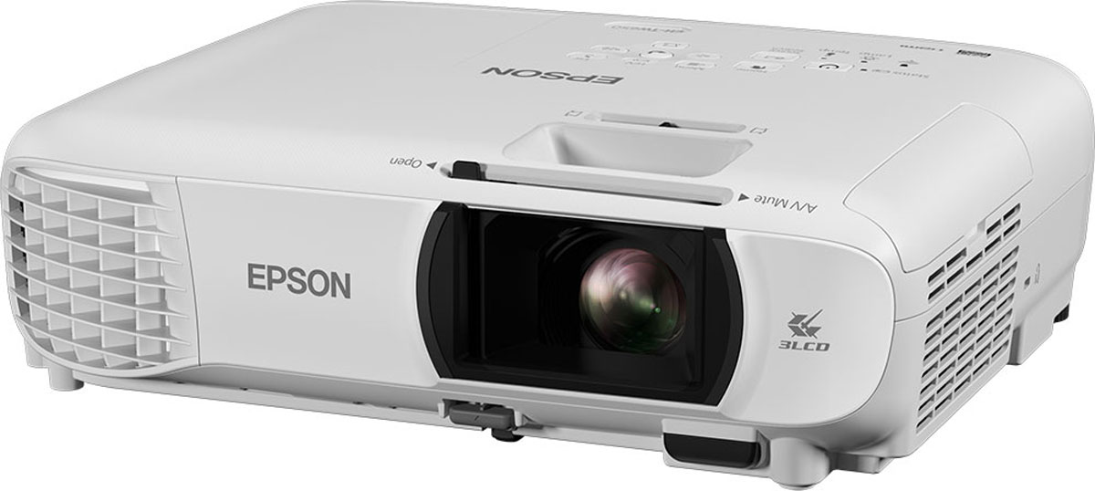 Epson EH-TW610, White мультимедийный проектор elplp49 replacement projector lamp with housing for epson eh tw2800 tw2900 tw3000 tw3200 tw3500 tw3600 tw3800 tw4000