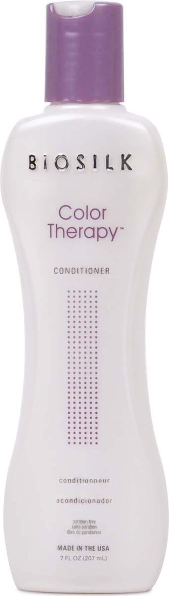 Biosilk Кондиционер Color Therapy восстанавливающий, 207 мл biosilk color therapy восстанавливающий кондиционер для окрашенных волос color therapy восстанавливающий кондиционер для окрашенных волос 355 мл