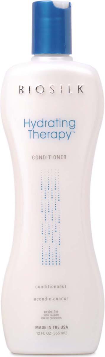 Biosilk Кондиционер Hydrating Therapy, 355 мл biosilk color therapy восстанавливающий кондиционер для окрашенных волос color therapy восстанавливающий кондиционер для окрашенных волос 355 мл
