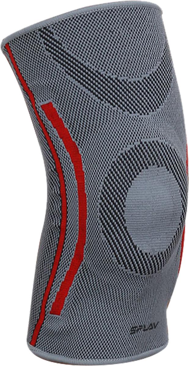 Наколенник Сплав Hole, цвет: серый. Размер M5064050Спортивный образ жизни - это путь к здоровью. Поэтому, даже если ваши колени еще не болят, поддержите их! Наколенник фиксирует коленный сустав, не давая ему смещаться в опасном направлении и сохраняя необходимую для его правильной работы геометрию. Силиконовое кольцо стабилизирует коленную чашечку и защищает от ушибов.Благодаря высоким компрессионным свойствам, наколенник препятствует растяжению связок и мышц ноги.Сочетание нейлона, спандекса и искусственного каучука делает наколенник прочным, эластичным, упругим и износостойким. Он удерживает тепло, отлично дышит, улучшает кровообращение и снижает вероятность возникновения боли во время работы сустава.