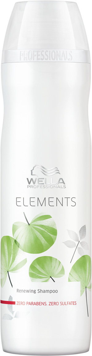 Wella Professionals Elements - Обновляющий шампунь 250 мл лосьон wella professionals perfect me eimi 100 мл