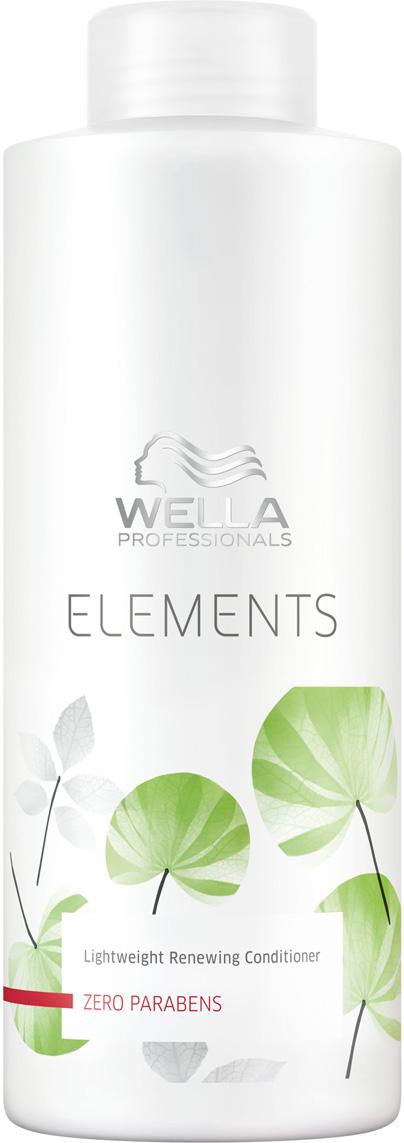 Wella Professionals Elements - Лёгкий обновляющий бальзам 1000 мл лосьон wella professionals perfect me eimi 100 мл