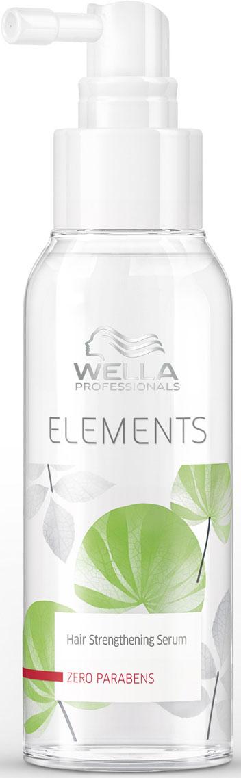 Wella Elements Обновляющая сыворотка для волос и кожи головы, 100 мл wella professionals elements несмываемый увлажняющий спрей 150 мл