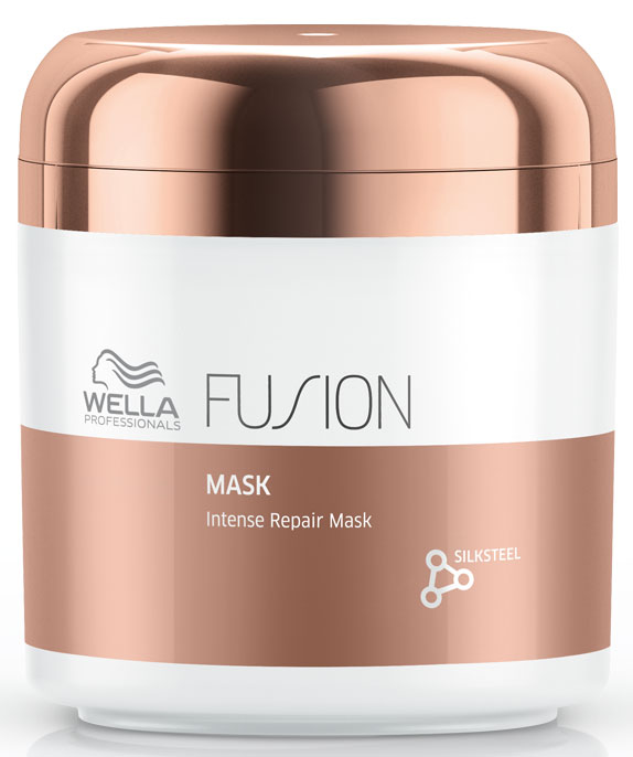 Wella Professionals Fusion Mask - Интенсивно восстанавливающая маска 150 мл wella professionals elements несмываемый увлажняющий спрей 150 мл