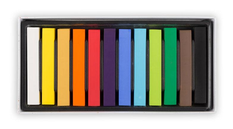 Vista-Artista пастель художественная 12 цветов -  Мелки и пастель