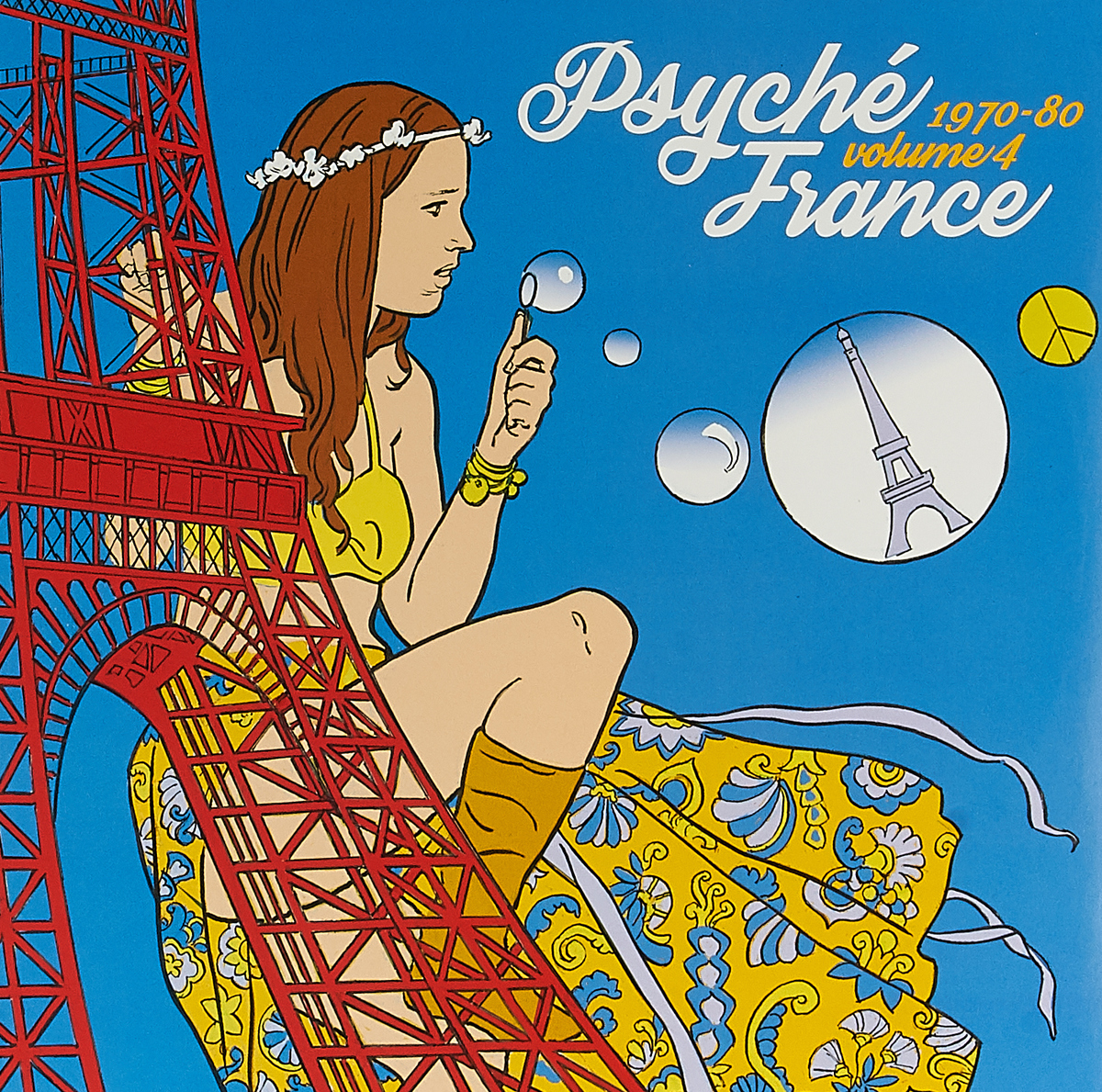 Psyche France 1970-80 Volume 4 (LP)