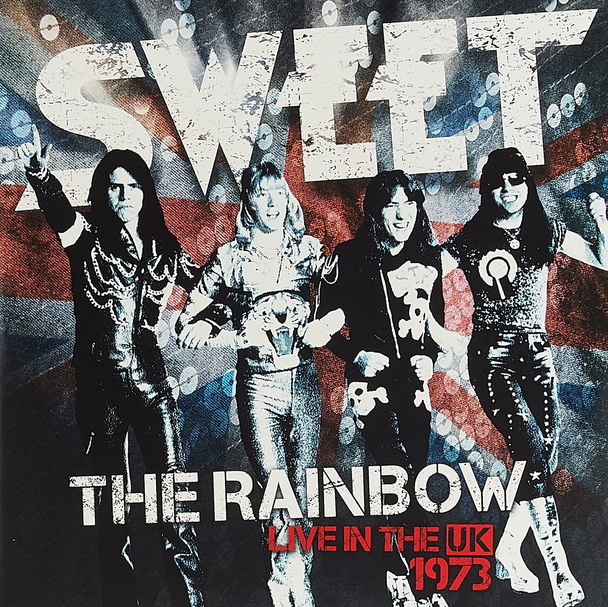 Sweet Sweet. The Rainbow (Sweet Live In The UK) (New Vinyl Edition) (2 LP) space deliverance limited edition glow in the dark vinyl lp
