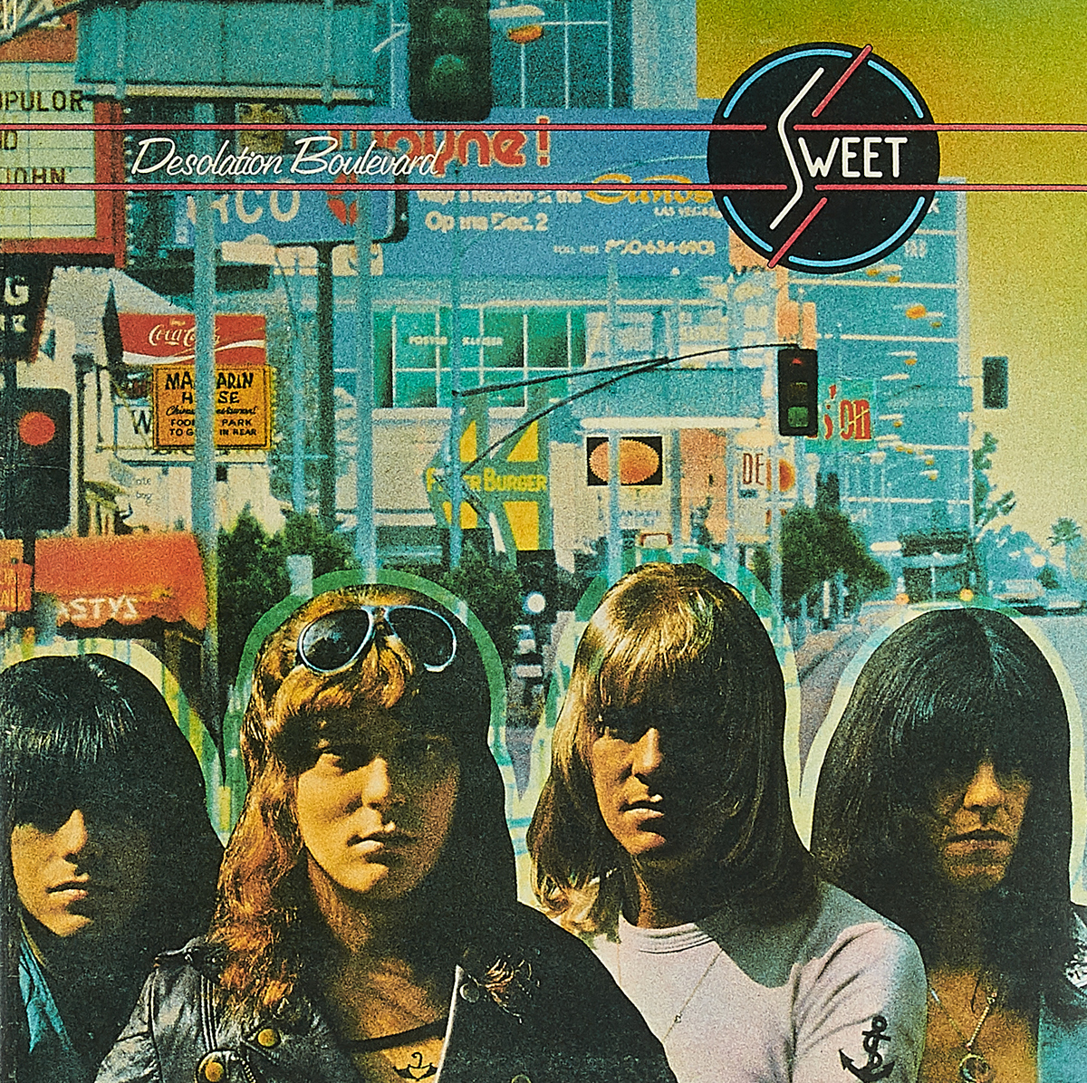 Sweet Sweet. Desolation Boulevard (New Vinyl Edition) (LP) sweet sweet give us a wink new vinyl edition lp