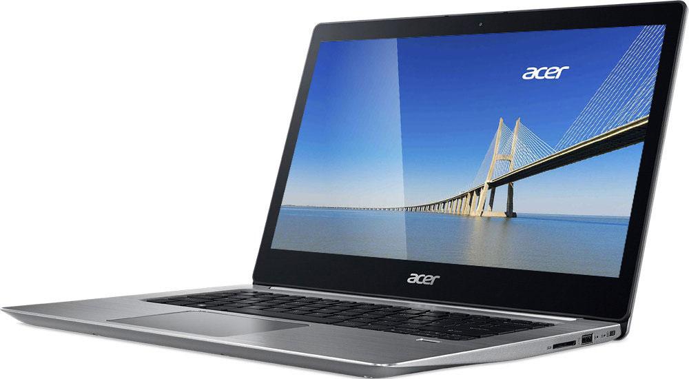 Acer Swift 3 SF314-52G-59Y1SF314-52G-59Y1Acer Swift 3 - портативный ноутбук с толщиной корпуса 17,95 мм и весом 1,60 кг.Элегантный алюминиевый корпус красив и приятен на ощупь. Благодаря эргономичной клавиатуре с подсветкой можно набирать текст даже при слабом освещении.Благодаря автономной работе до 10 часов Swift 3 не даст заскучать в перелете от Дубая до Гонконга - и еще дальше. Оцените 3-кратное увеличение скорости беспроводного подключения благодаря технологии MU-MIMO с конфигурацией 2x2 и стандарту 802.11ac.Смотрите любимые фильмы в высоком разрешении на 14-дюймовом Full HD IPS-экране с натуральной цветопередачей. Микрофон, динамики и веб-камера с разрешением HD ноутбука Swift 3 идеально подходят для использования Skype for Business и обеспечивают непревзойденное качество связи при организации совещаний в видеочате.Порт USB 3.1 Type-C поддерживает сверхбыструю передачу данных, а через порт USB 3.0 вы сможете заряжать свои устройства, когда ноутбук выключен.Точные характеристики зависят от модели.Ноутбук сертифицирован EAC и имеет русифицированную клавиатуру и Руководство пользователя.