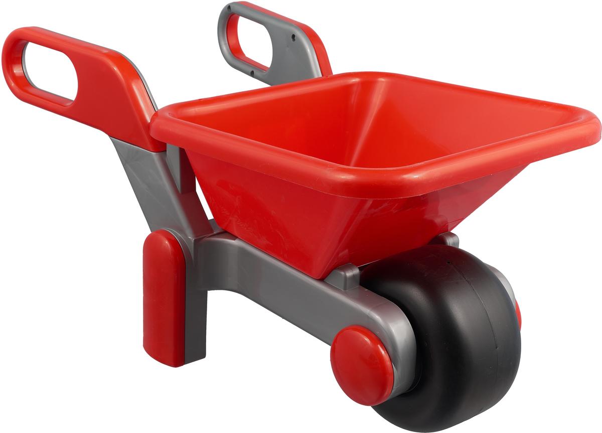 Полесье Игрушка для песочницы Тачка №4 цвет красный серый игрушка полесье крепыш 44549