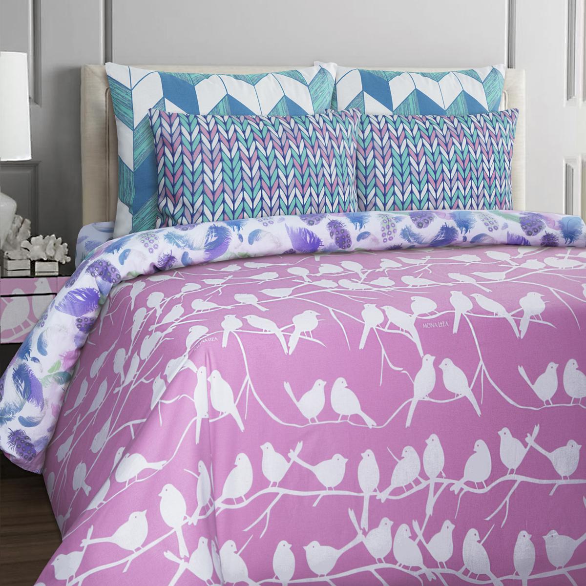 Комплект белья Mona Liza Stone Topaz, 2-спальный, наволочки 50x70. 552205-65