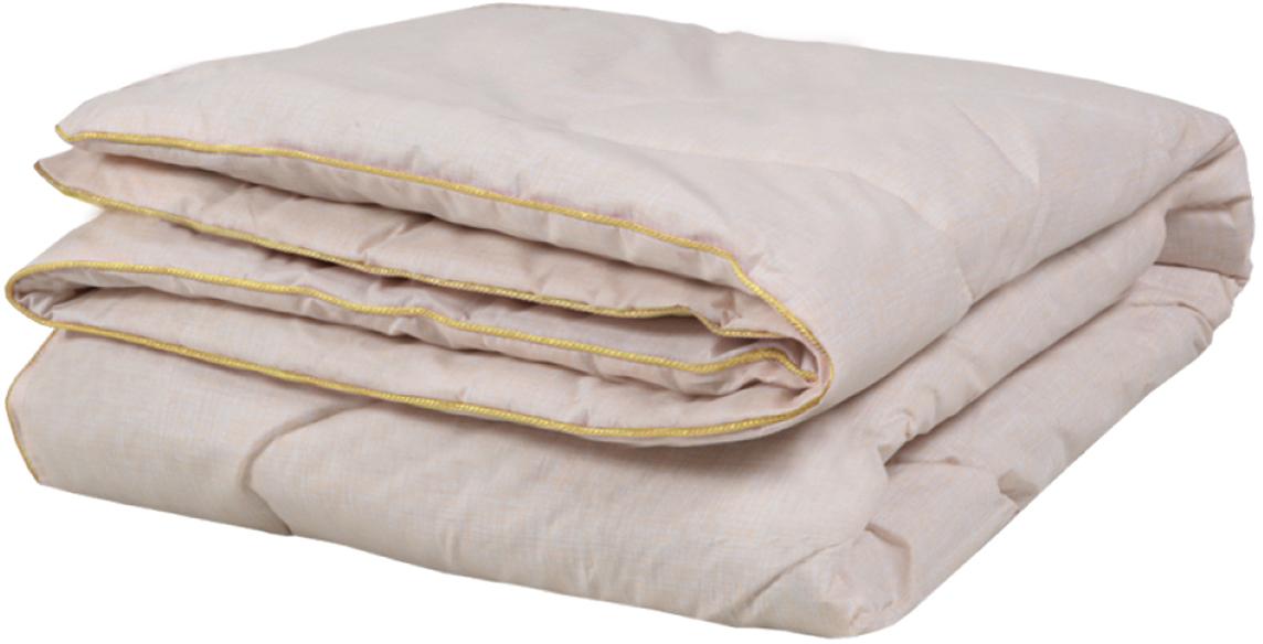 """Одеяло Mona Liza """"Premium"""", цвет: бежевый, 140 x 205 см. 539643"""