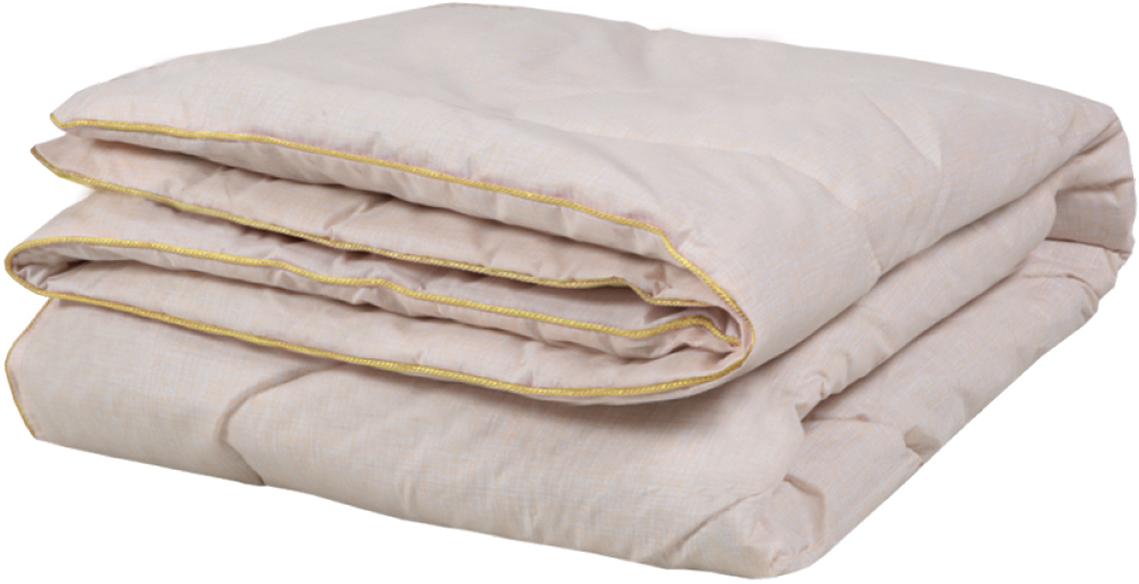 """Одеяло Mona Liza """"Premium"""" с овечьей шерстью обладает удивительным балансом различных свойств и удовлетворит требования даже самого изысканного покупателя!Наполнитель одеял с добавлением натуральной овечьей шерсти сохраняет ценные свойства натурального материала и одновременно обеспечивает легкость изделия, мягкость и долговечность.Высокосиликонизированное волокно Royalon® придает изделию упругость, быстро восстанавливает форму после смятия, имеет высокую стойкость к ее сохранению с течением времени.Одеяло с овечьей шерстью:— Обладает высокими гигиеническими свойствами - изделие паро - воздухопроницаемо, «дышит», не пропускает извне ни жар, ни холод, поэтому обладает очень хорошими согревающими свойствами при отсутствии «парникового» эффекта— Предотвращает образование статического электричества, оказывающего вредное воздействие на здоровье человека и «притягивающего» бытовую пыль. Минимально загрязняется при эксплуатации и гасит бытовые электромагнитные излучения— Имеет сложную структуру волокна (извитое, чешуйчатое, с большим количеством воздушных полостей), высокую степень гигроскопичности, легко впитывает влагу и отдает влагу при просушивании— Рекомендуется как положительный фактор при склонности человека к ревматическим болям, невралгиям, заболеваниям позвоночника, внутримышечным болям, людям старшего возраста с «букетами» заболеванийТкань верха: тик пуходержащий 100% полиэстер, силиконизированное волокно 100% п/э. Вес наполнителя 1250 г."""