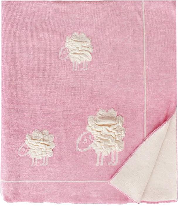 Eagle Плед детский Wolly цвет розовый 85 х 110 см ткань mas d ousvan dots цвет бордовый 110 х 100 см