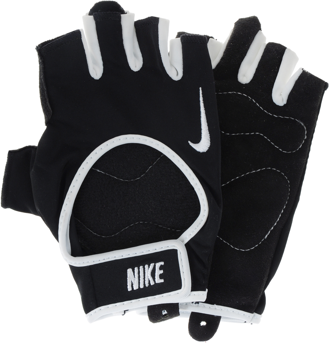 Перчатки для фитнеса мужские Nike Men's Fundamental Training Gloves, цвет: черный. Размер XS nike перчатки для фитнеса женские nike