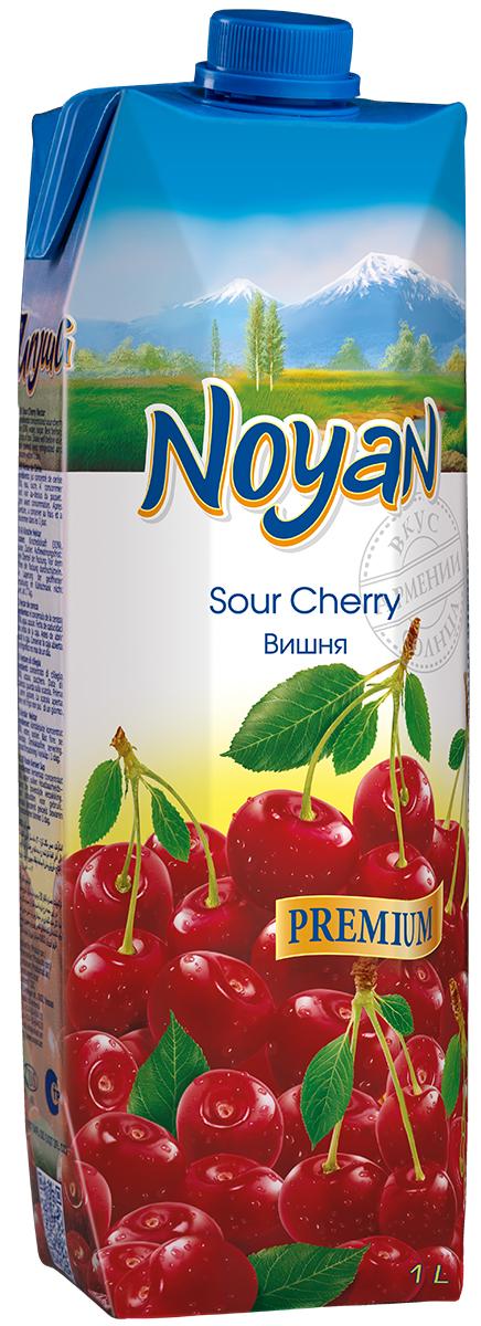 Noyan Вишневый нектар Premium, 1 л