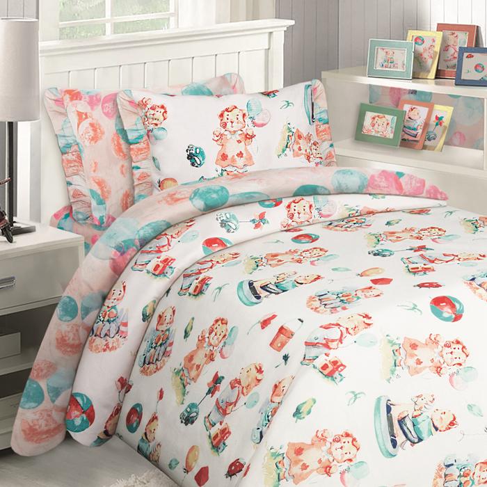 Коллекция постельного белья Mona Liza Kids - это яркая запоминающаяся коллекция для самых маленьких героев и принцесс. Сочные дизайны, экологичная натуральная ткань не оставит равнодушным ни детей, ни их родителей! Комплекты выполнены из бязи, 100 % хлопка.