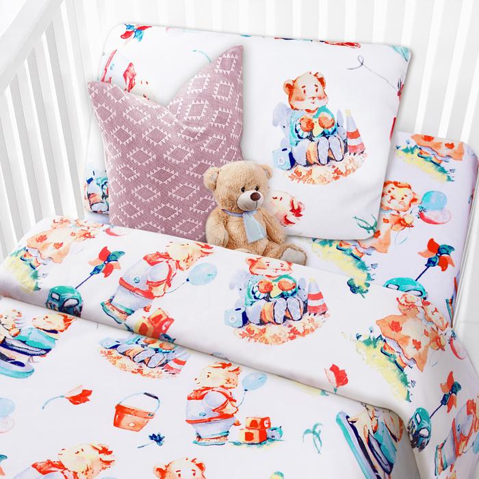 Коллекция постельного белья Mona Liza Kids -это яркая запоминающаяся коллекция для самых маленьких героев и принцесс. Сочные дизайны, экологичная натуральная ткань не оставит равнодушным ни детей, ни их родителей! Комплекты выполнены из бязи 100 % хлопка.