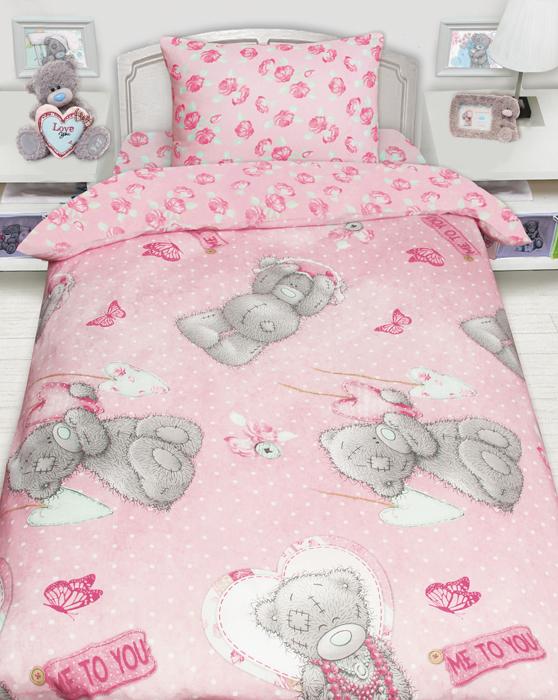 Коллекция постельного белья с медвежонком Тедди. Сочные дизайны, экологичная натуральная ткань не оставит равнодушным ни детей, ни их родителей! Комплекты выполнены из бязи 100 % хлопка.