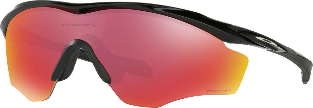 Велосипедные очки Oakley M2 Frame XL, цвет: Polished Black / Prizm Cricket солнцезащитные очки oakley 0oo9009 12 79