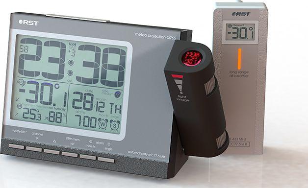 RST 32765, Black проекционные часы