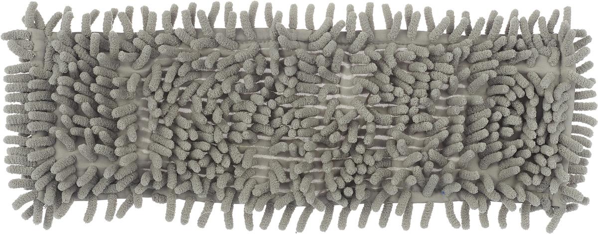 Насадка для швабры Home Queen Еврокласс, длина 40 см цвет: серый