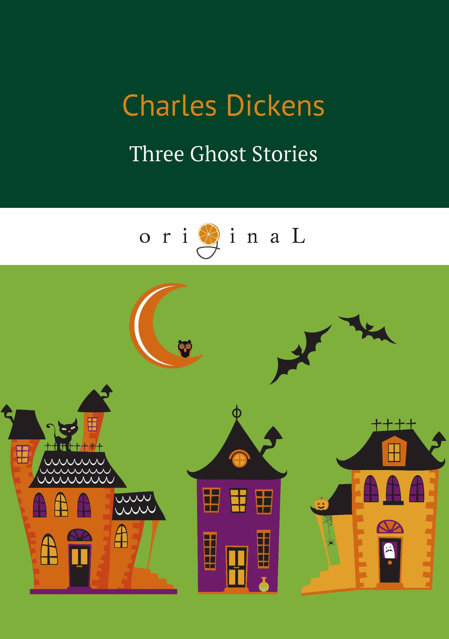 Dickens C. Three Ghost Stories dickens c a christmas carol книга для чтения