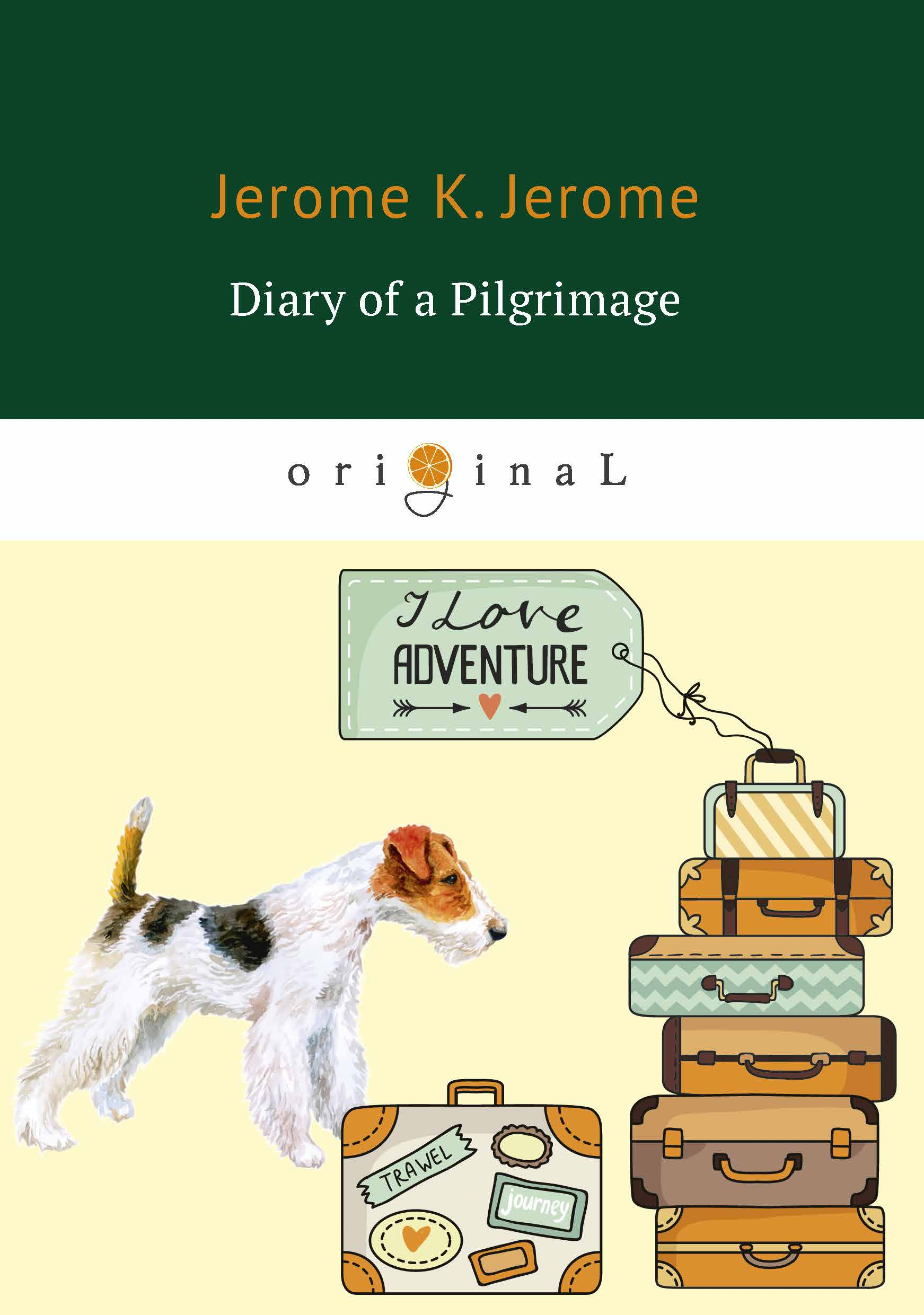 цена Jerome K. Jerome Diary of a Pilgrimage ISBN: 978-5-521-07081-7