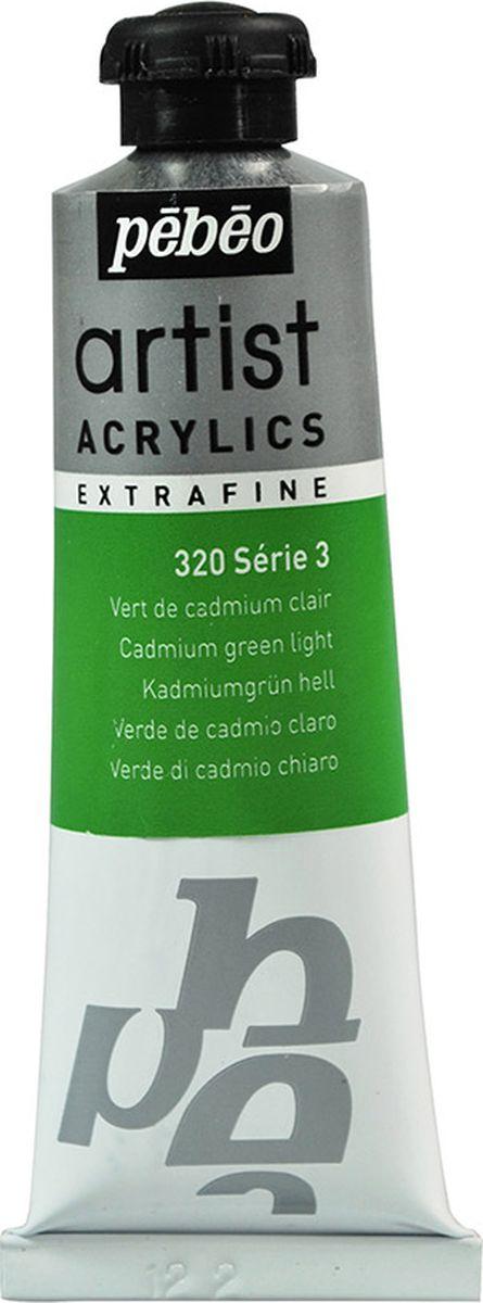 Pebeo Краска акриловая Artist Acrylics Extra Fine №3 цвет кадмий зеленый светлый 37 мл