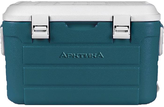 Контейнер Арктика, цвет: белый, бирюзовый, 30 л термоконтейнер арктика 2000 30 л зеленый
