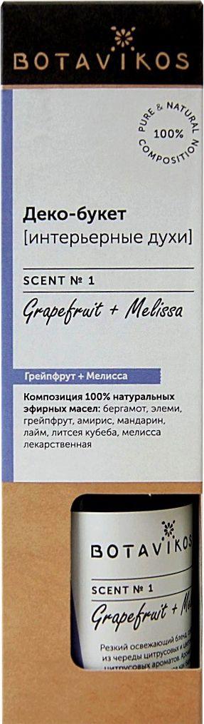 Духи интерьерные Botavikos, грейпфрут, мелисса, 100 мл