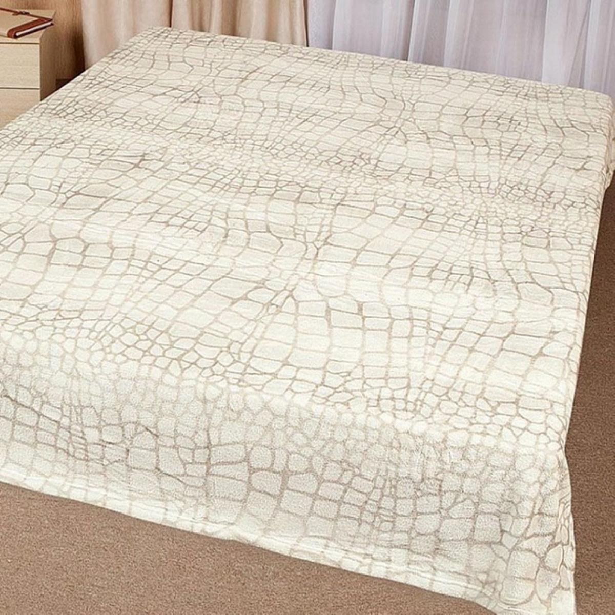 Плед Letto Велсофт, цвет: серый, 175 х 200 см. V114-4 плед hongda уют 2x2 2m white 877312