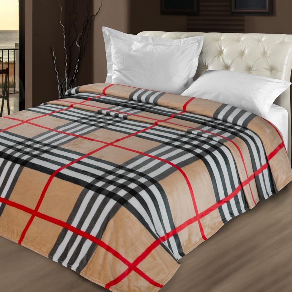 Плед Letto Велсофт, цвет: черный, 175 х 200 см. V78-4 плед kou yang textile bh 1 60
