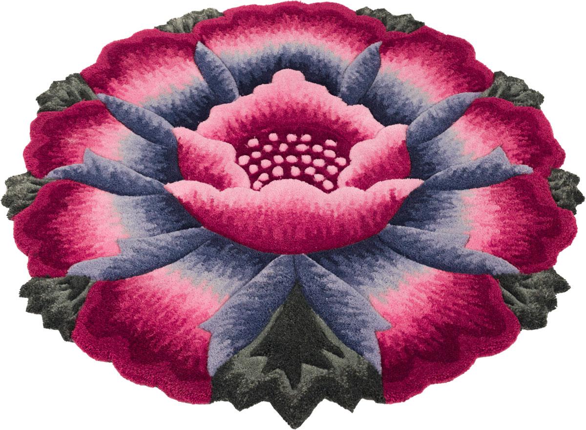Ковер Madonna, круглый, цвет: розовый, 0,8 х 0,8 м. 8563/8341 венера ковер тачки 80 133 см