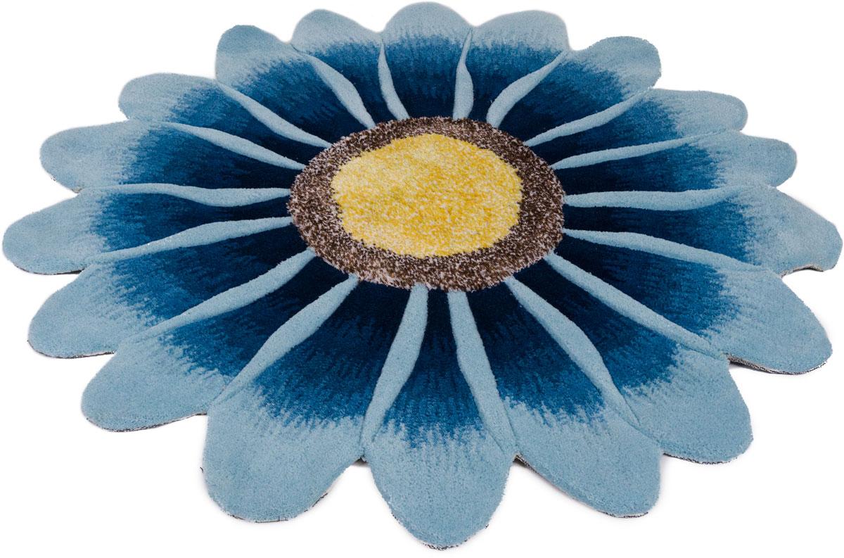 Ковер Madonna, круглый, цвет: голубой, 0,8 х 0,8 м. 8DHS02/85694690317039907