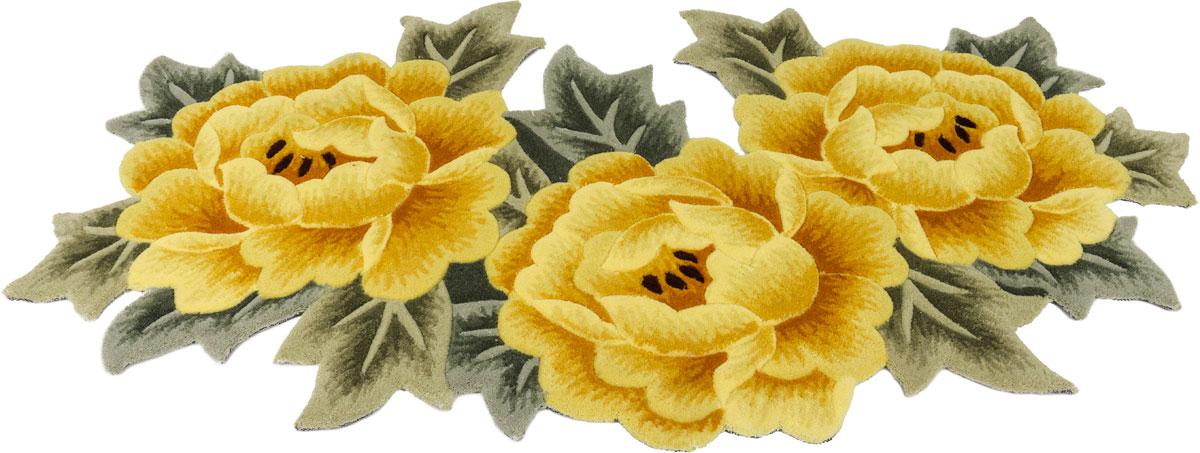 Прикроватный коврик в виде ярких цветов долго прослужит в вашем доме, добавляя тепло и уют, а также внесет неповторимый колорит в интерьер любой комнаты.