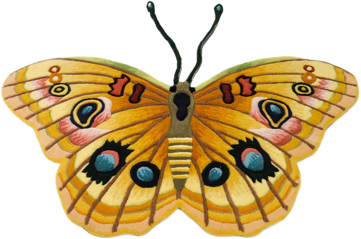 Ковер Madonna, фигурный, цвет: оранжевый, 0,98 х 1,2 м. 8HD1/8157 8157 rcy88 new tab cof ic module