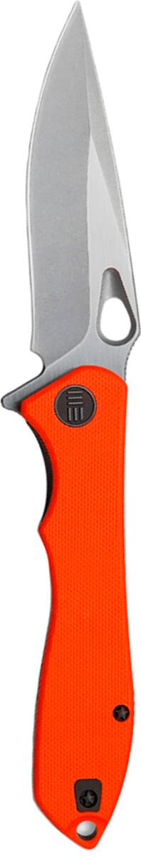 Нож складной We Knife Ignition, цвет: оранжевый, длина клинка 8,75 см