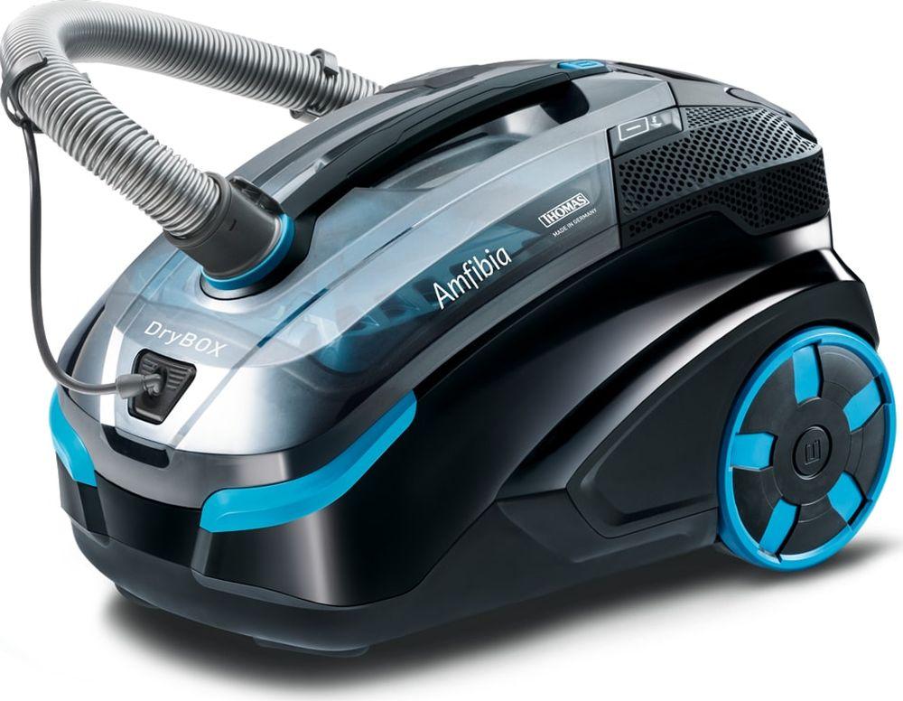 Thomas 788596 DryBOX Amfibia, Black Blue моющий пылесос