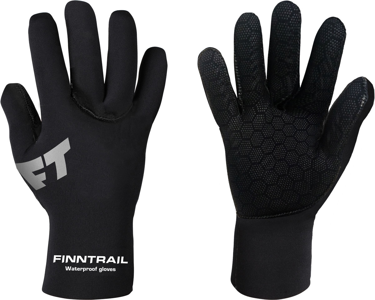 Перчатки Finntrail Neoguard, цвет: черный. 2110. Размер XXL