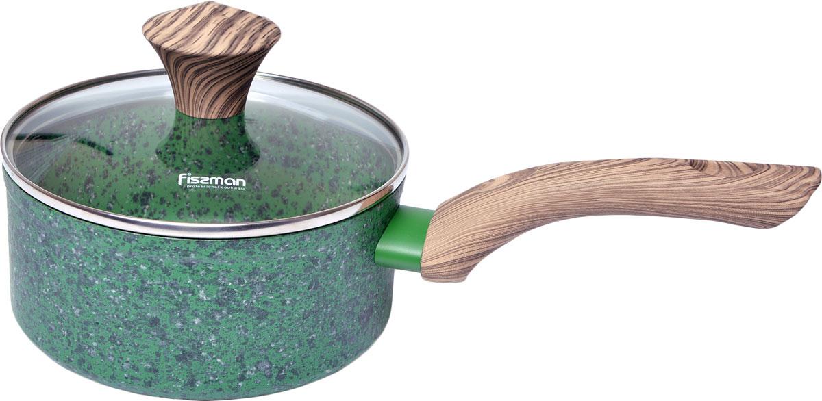 Новая серия посуды Malachite от компании FISSMAN изготовлена из литого алюминия с многослойным антипригарным покрытием EcoStone, которое усилено вкраплением каменных частиц. Главное преимущество покрытия - это устойчивость к царапинам и износу. Также покрытие безопасно для здоровья человека и окружающей среды. Утолщенное дно сковороды рационально распределяет тепло, что позволяет продуктам готовиться быстро и равномерно. Приятная на ощупь ручка из бакелита не нагревается и не скользит в руках.Посуда серии Malachite - это уникальный дизайн и не превзойденное качество.