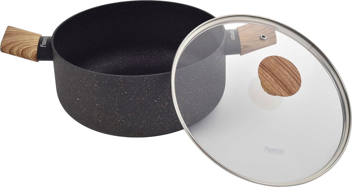 Посуда серии Spark Stone изготовлена из алюминия с многослойным сверхпрочным антипригарным покрытием TouchStone, состоящим из нескольких слоев натуральной каменной крошки на основе минеральных компонентов. Такое покрытие обладает антибактериальным эффектом, безопасно для здоровья человека и не вредит окружающей среде. Кастрюля серии Spark Stone создаст новые яркие впечатления при приготовлении Ваших блюд.