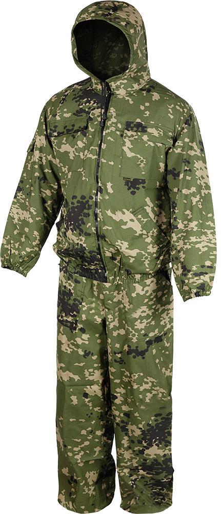 Костюм маскировочный летний Huntsman Стрелок: куртка, брюки, цвет: горох камуфляж. str_100-147. Размер 56/58